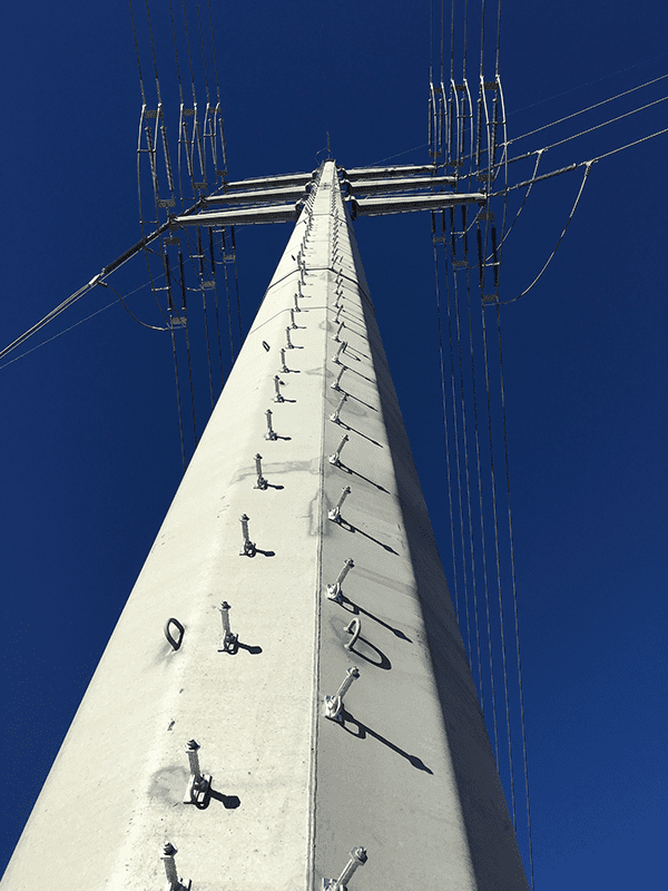 pole climbing 600
